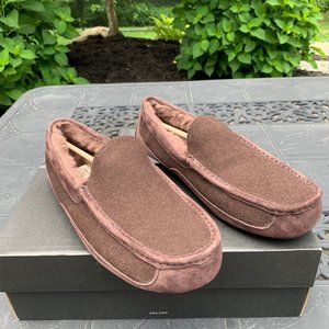 UGG Men's Ascot Suede Wool Indoor outdoor slipper